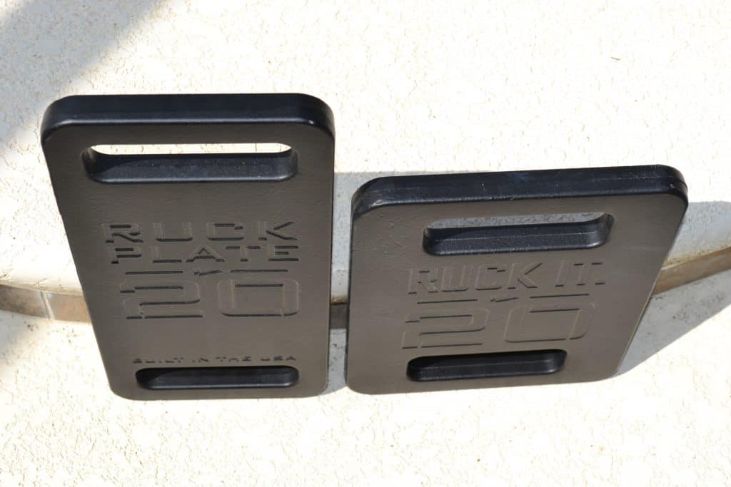 GORUCK Standard Plate vs Expert Plate  - Exper plates are thicker, slightly.