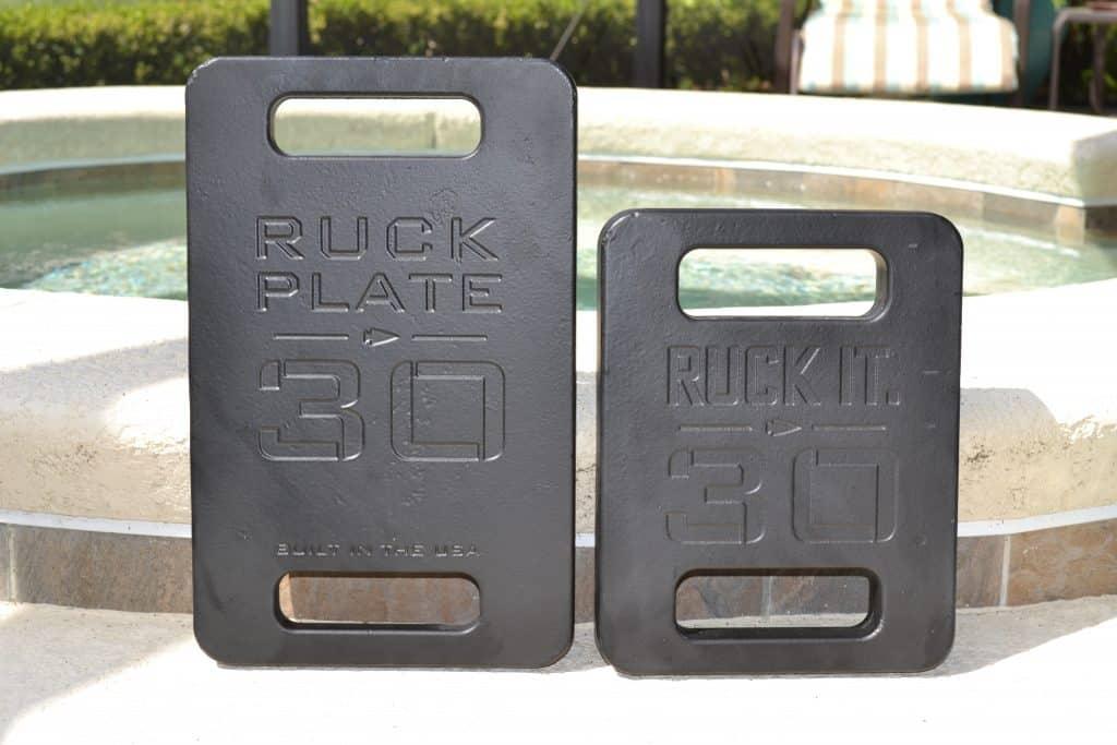 GORUCK Standard Plate vs Expert Plate - 30 lb plate