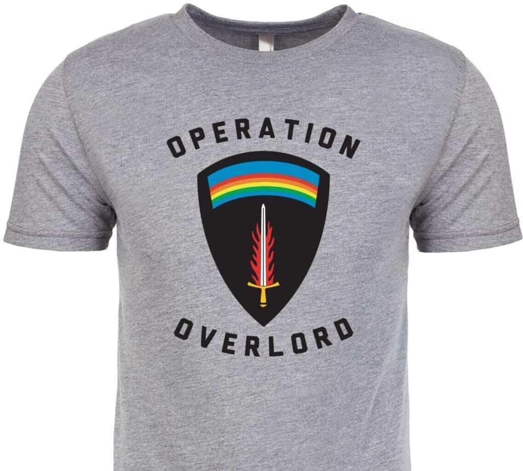 GORUCK T-Shirt Operation Overlord gray