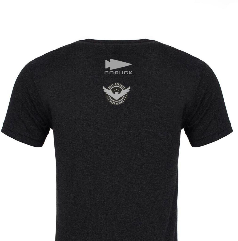 GORUCK T-shirt - BDF 77th Anniversary of D-Day back