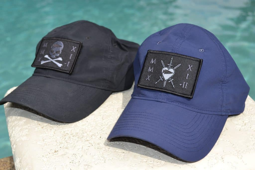 GORUCK TAC Hat in Black and Navy