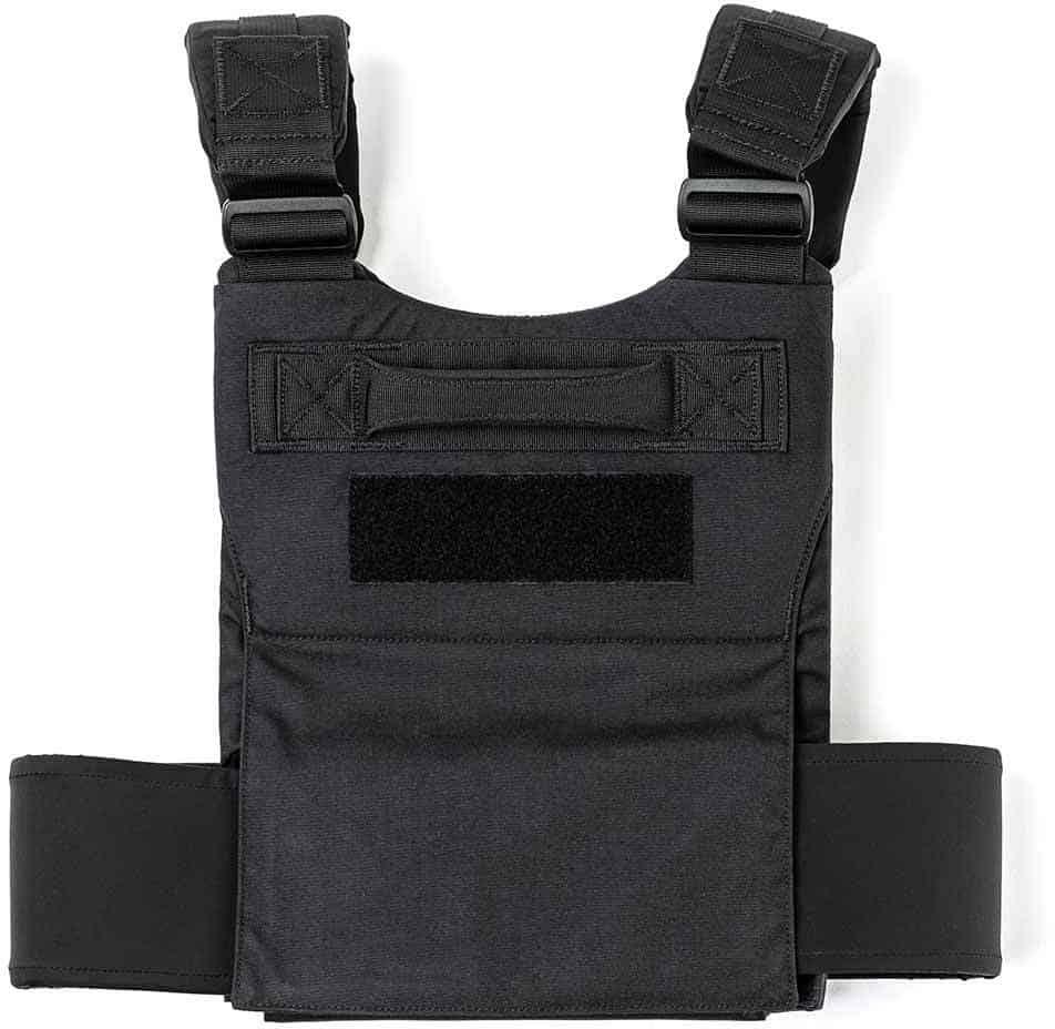 GORUCK Training Weight Vest black back