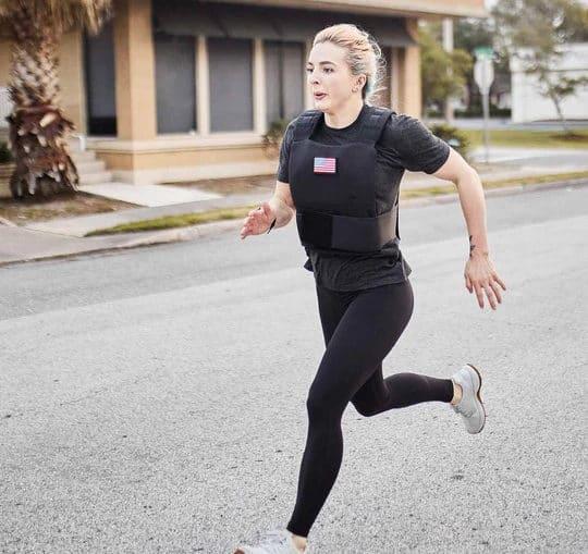 GORUCK Training Weight Vest black running