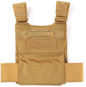 GORUCK Training Weight Vest coyote back