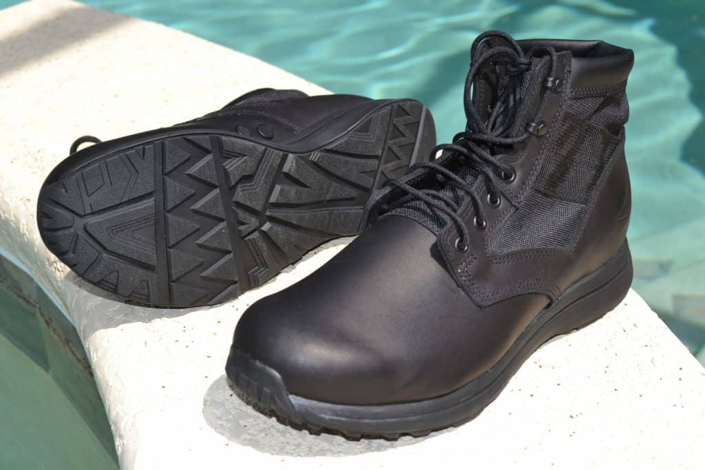 GORUCK MACV-1 Jungle Rucking Boot in Black Leather