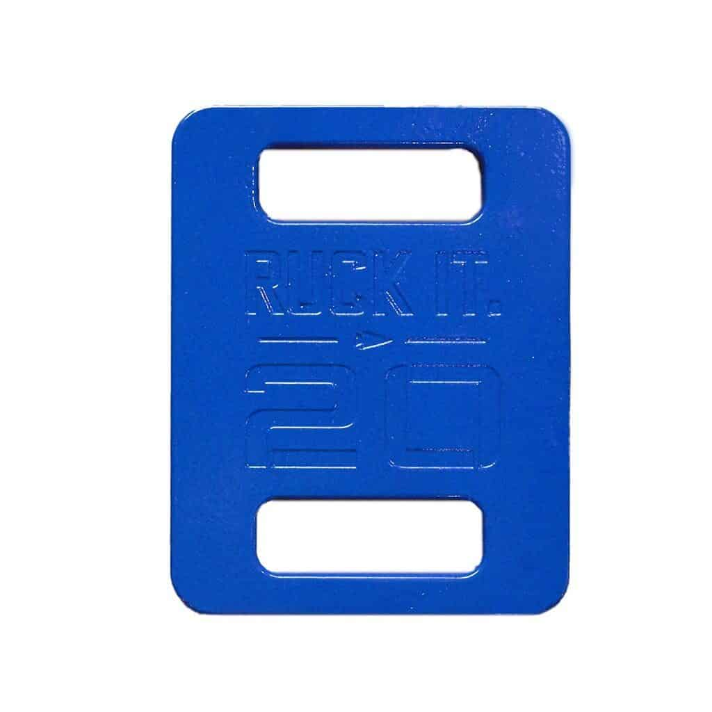 GORUCK Rucke Plate 20 Lb in Blue Color