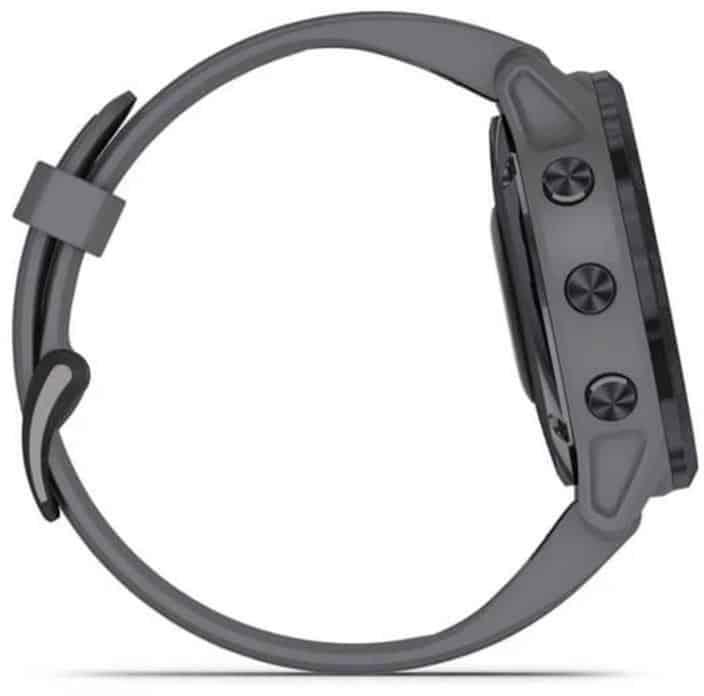 Garmin Fenix 6X Pro Solar Smartwatch side