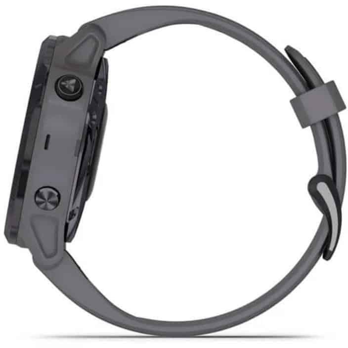 Garmin Fenix 6X Pro Solar Smartwatch side left
