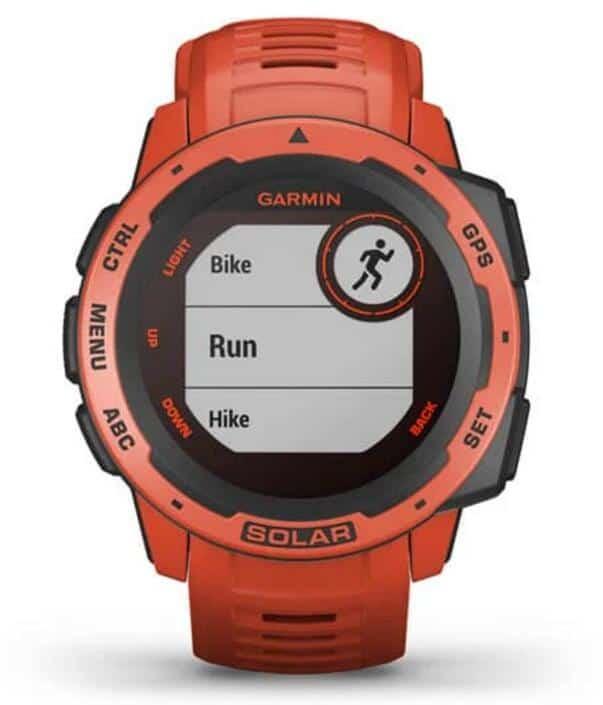 Garmin Instinct Solar Smartwatch front