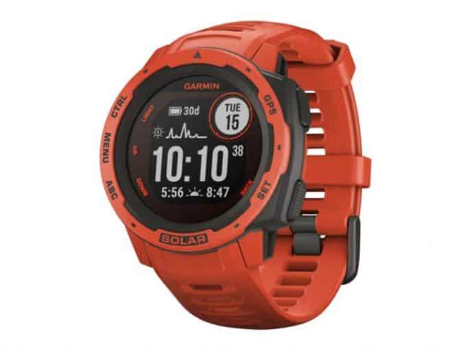 Garmin Instinct Solar Smartwatch main