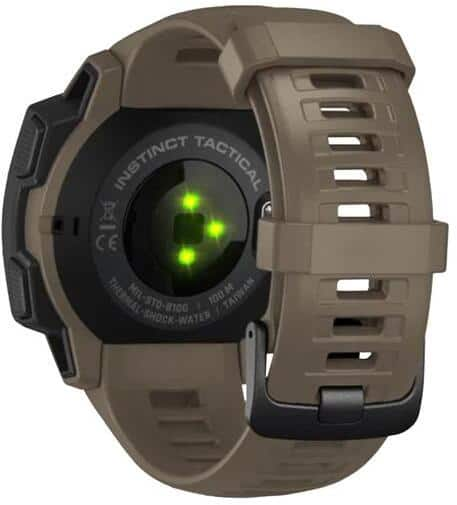 Garmin Instinct Tactical Edition Smartwatch back