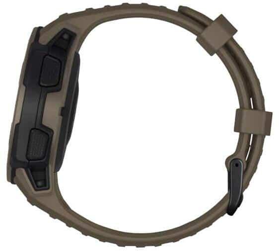 Garmin Instinct Tactical Edition Smartwatch side