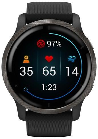 Garmin Venu 2 Fitness Smartwatch front