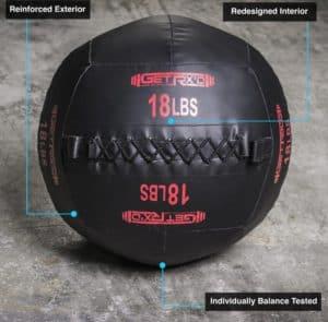 Get RX'd Premium Wall Balls 18lb