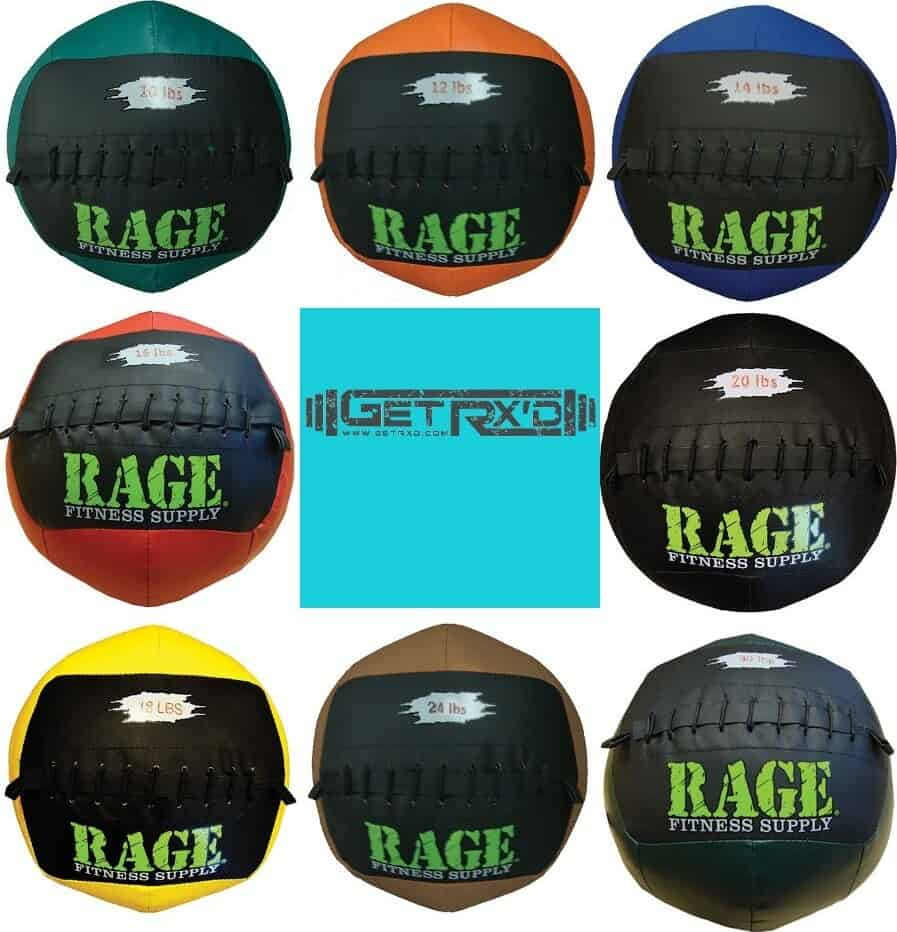 Get RX'd Rage Wall Ball collage