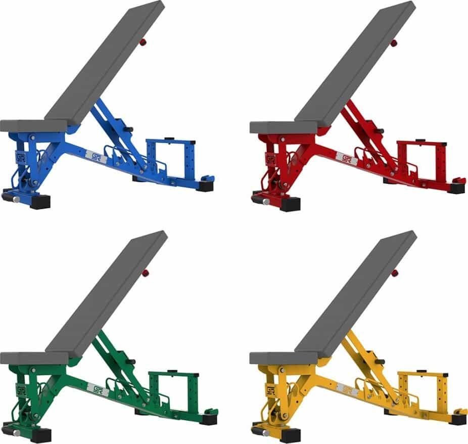 Get Rx'd FIDAB-2 Adjustable Bench color options