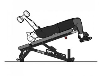 Get Rx'd FIDAB-2 Adjustable Bench sample exercise 2