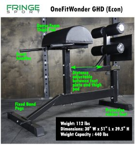FringeSport GHD - Econ model - compact but effective