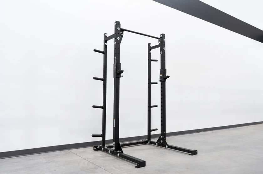 High Squat Rack with Weight Storage main