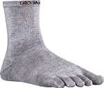 Injini Mens Toesocks - Superior moisture prevention and hot spot and blister prevention, thanks to 5 individual sleeves for each toe.