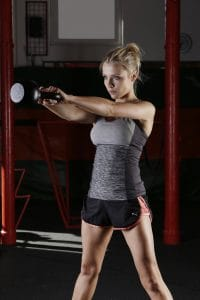 Kettlebell swings are an excellent exercise, especially with tabata.