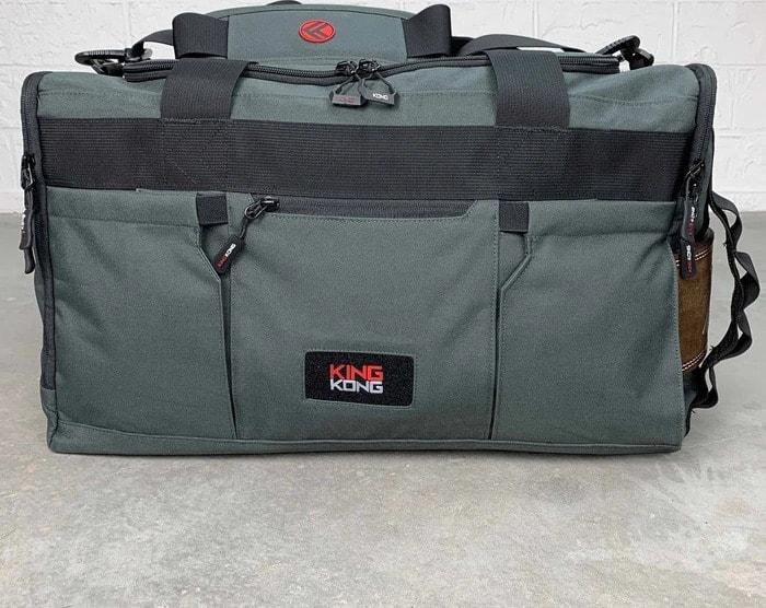 King Kong Apparel Core51 Duffel Charcoal front