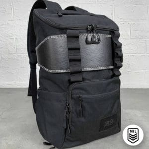 King Kong CORE25 Backpack Black with belt full front