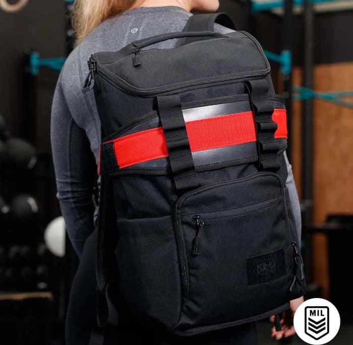 King Kong CORE25 Backpack Black worn