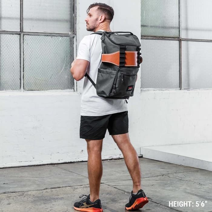 King Kong CORE25 Backpack Charcoal with belt