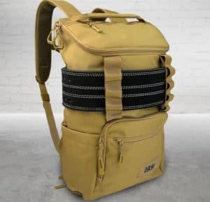 King Kong CORE25 Backpack Desert full with belt