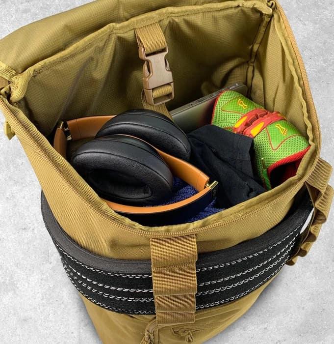 King Kong CORE25 Backpack Desert inside