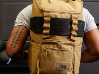 King Kong CORE25 Backpack Desert worn