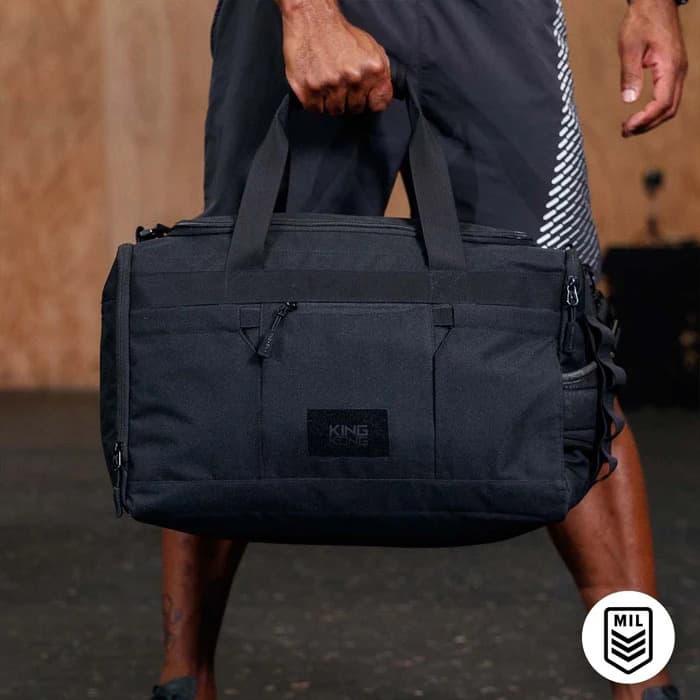 King Kong Core35 Duffel Black carried