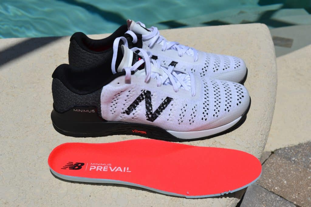 Minimus Prevail has a removable insole