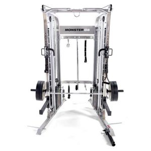 Monster G6 Power Rack, Functional Trainer & Smith Machine Combo - all in one squat rack and functional trainer