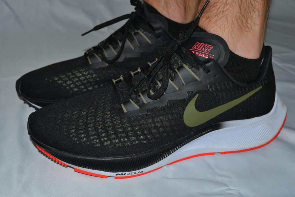 MudGear No-Show Running Socks - Black-Gray