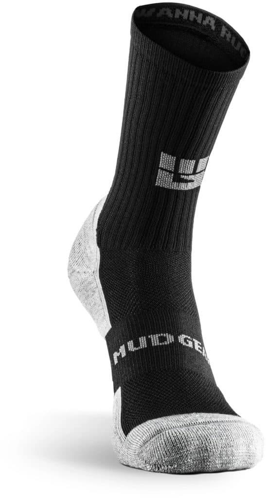 MudGear Ruck Sock Black Gray front