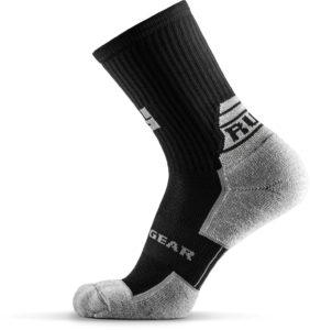 MudGear Ruck Sock Black Gray side left