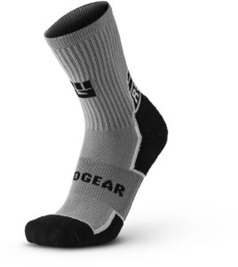 MudGear Ruck Sock Gray Black arch