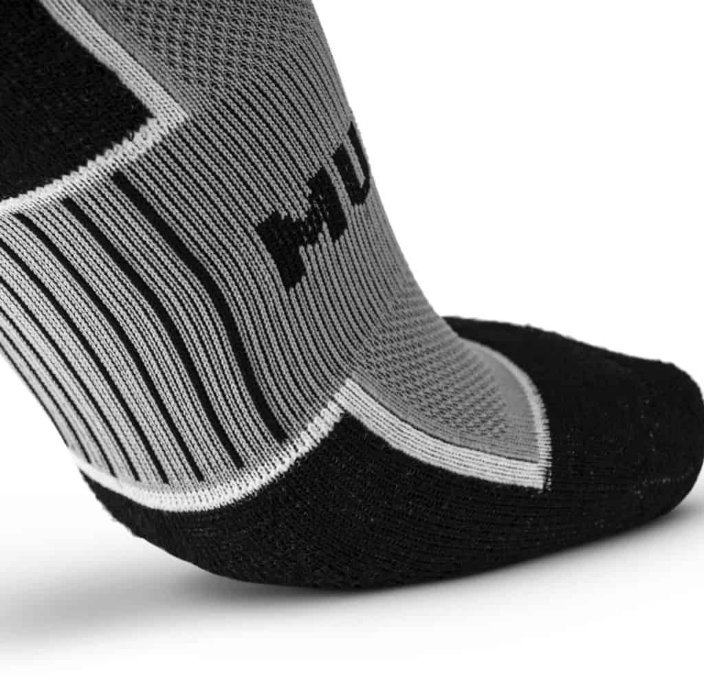 MudGear Ruck Sock Gray Black close up