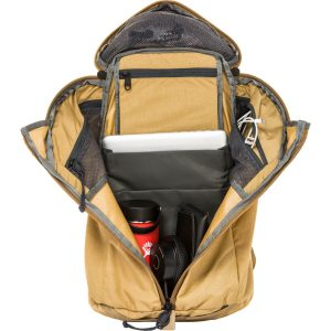 Interior View of the Mystery Ranch Urban Assault backpack