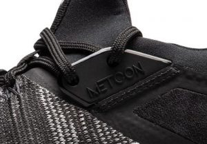 Eyestay of the Nike Metcon Flyknit 3 - integrates with the laces to lock in the heel.