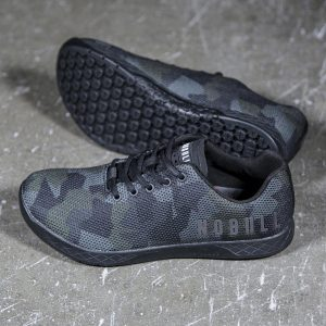 NOBULL Trainer - Versatile and comfortable CrossFit training shoe -built for the rigors of the WOD - in Dark Camo