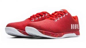 NOBULL Trainer - Versatile and comfortable CrossFit training shoe -built for the rigors of the WOD - in Fire Heather color