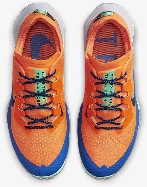 Nike Air Zoom Terra Kiger 7 top view