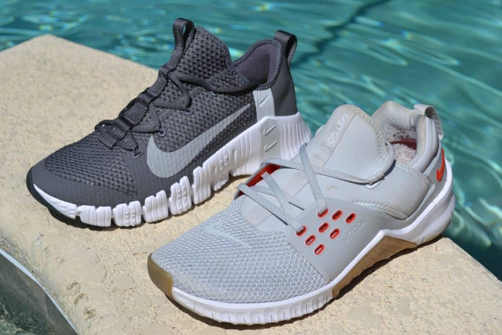 Nike Free Metcon 3 versus Nike Free x Metcon 2 - Side by Side