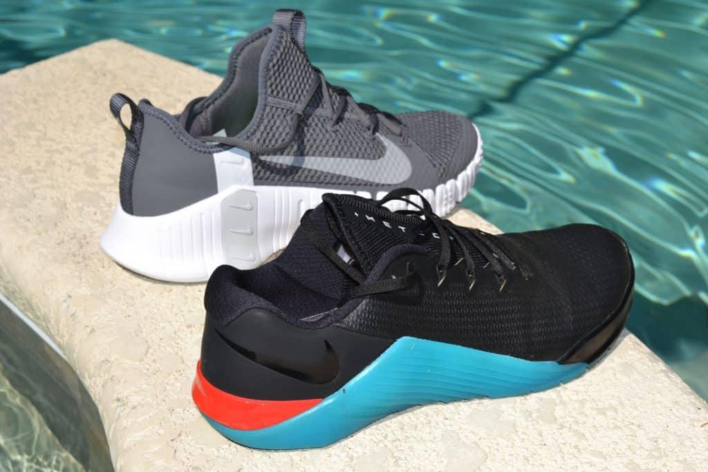 Nike Free Metcon 3 versus Nike Metcon 5 - Side by Side