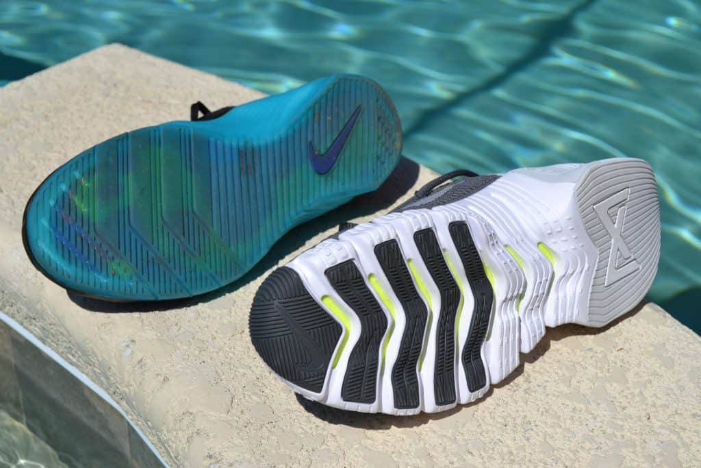 Nike Free Metcon 3 versus Nike Metcon 5 - Sole to Sole