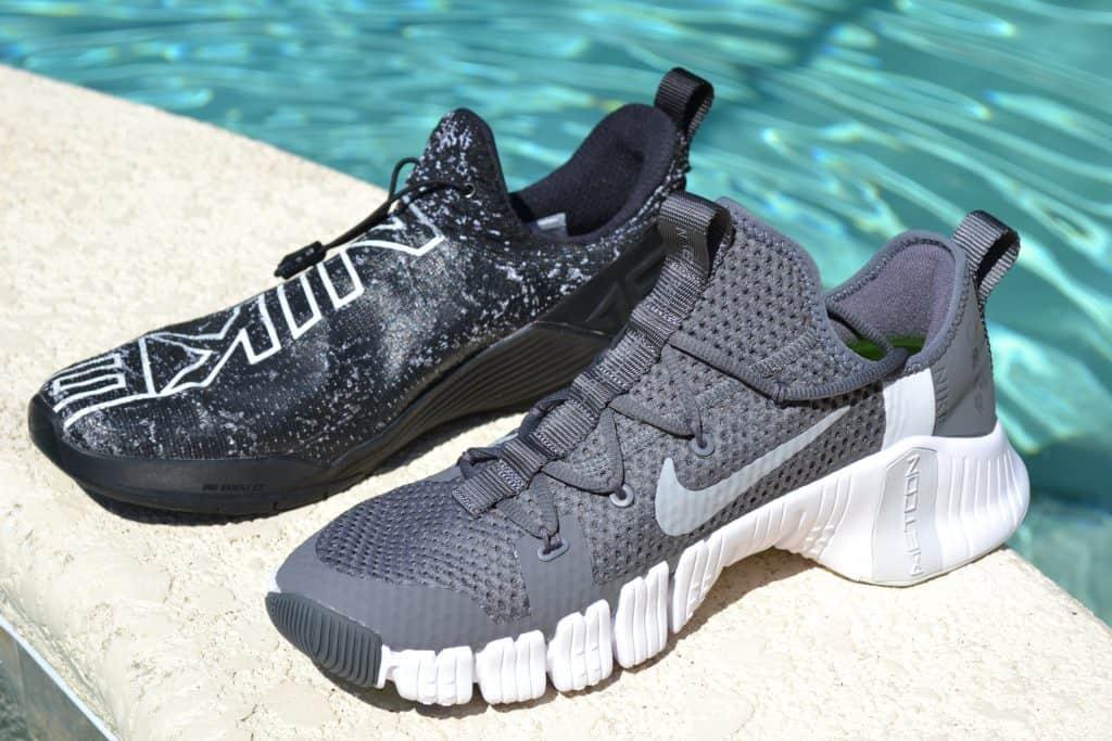 Nike Free Metcon 3 versus Nike React Metcon - Side by Side