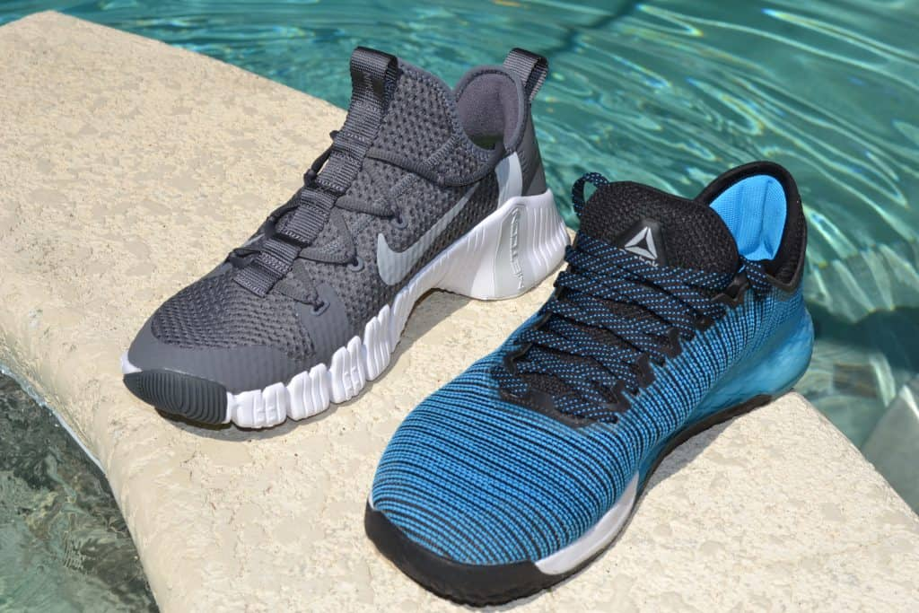 Nike Free Metcon 3 versus Reebok Nano 9 - Side by Side
